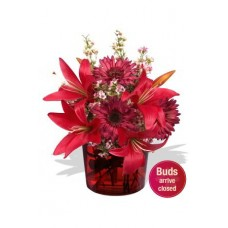 Lily Bouquet , 3 lily and 4 gerbera